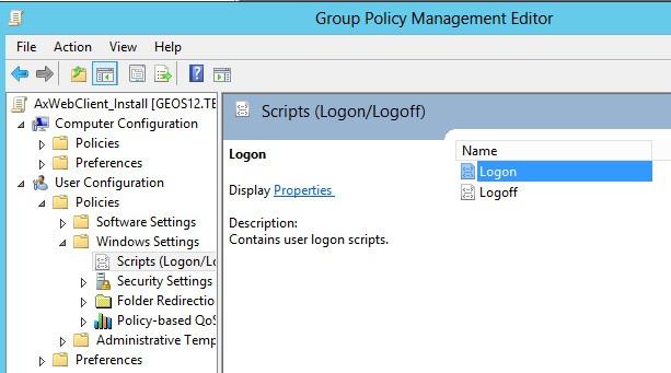 Logon Script Delete Temp Files